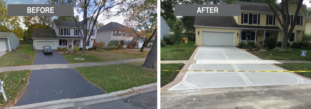 Great-American-Exteriors---before-and-after-concrete-drive