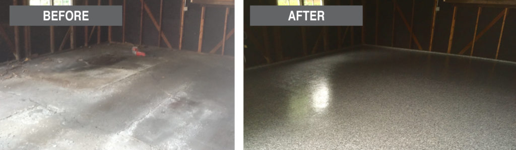 Great-American-Exteriors---before-and-after-garage-floor